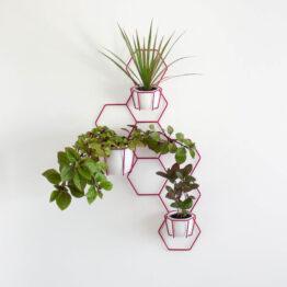 hexal design kwietnik wiszący iver